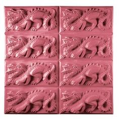 <br>Dragon Tray Soap Mold for cold processed, hot processed, melt & pour soap, candies, chocolate, wax applications and ceramic crafts when mold guidelines/pouring temperatures are followed. (To avoid cross-contamination, do not use for food/chocolates after using for soap making). Molds can tolerate temperatures of 135-145 degrees F. Above these temperatures, warpin...