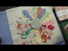 amazing tutorial on how to make a dresden quilt using a charm pack. Easier than it looks!