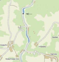 Tábořiště U splávku - Kokořín Map, Location Map, Maps