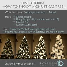 How to Shoot a Christmas Tree