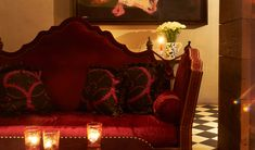 The Gramercy Park Hotel   A modern take on a traditional grand New York Hotel, with its custom-designed, handcrafted furnishings and rotating collection of 20th century artwork, including masterpieces from Andy Warhol and Jean-Michel Basquiat. By Hotelied.