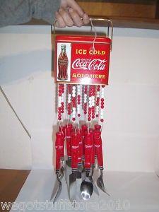 Coca Cola wind chime