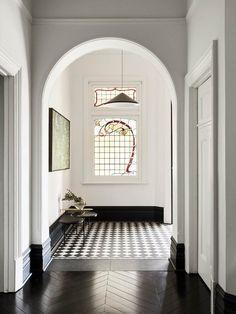 Edwardian House, Victorian Terrace, Edwardian Era, Edwardian Hallway, Design Blog, Interior Design Studio, Design Ideas, Foyers, Leadlight Windows