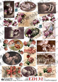 Decoupage papier - Decoupage PAPER - Asket Collection