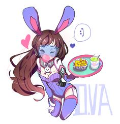Overwatch - D.VA Fast Food