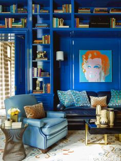 Art In Home Tuesday ~ It's A Blue Day