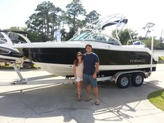 Congrats to Shawn and Tatiana on your beautiful new 227 Robalo! We appreciate your business. Fish beware!