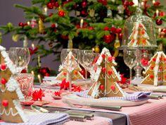 Peperkoek kerstbomen