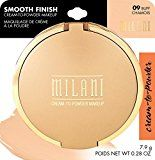 Milani Smooth Finish Cream To Powder Makeup, Buff - https://www.avon.com/?repid=16581277 This stylish and rich finish makeup from Milani glides on like a cream and blends to a natural matte powder finish. Its luxurious, silky, creamy-smooth and oil free formula covers flawlessly, hiding imperfections and evening out skin tones. Mirror and sponge applicator included.  Company: Milani (2014-03-22) (2014-03-24) List Price: $  9.59 Amazon Price: $  6.98 Amazon.com Beauty: milani