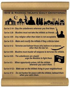 "Illinois Social Media Law: #ISLAMIC #Terror Verses in the ""Holy"" Koran"