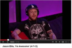 Look who is Spotted Sitting On Garbo Sofa!!- Jason Ellis on Howard TV show