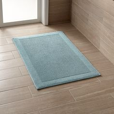 Subtly Textured Green Bath Mat Works In Any Décor, Absorbing Wetness And  Drying Quickly. This Product Is Certified By Oeko Tex®, An International ...