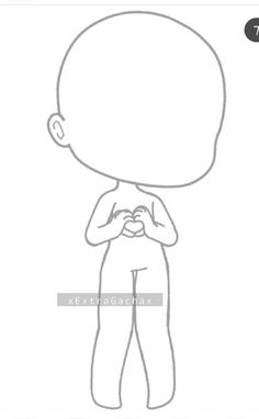 Kawaii Drawings, Cute Drawings, Drawing Sketches, Chibi Body, Stitch Drawing, Anime Pixel Art, Anime Poses Reference, Cute Anime Chibi, Fashion Design Drawings