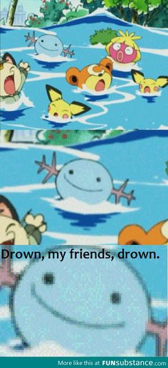Wooper just doesn't care (I snorted and nearly spat at my comp screen when I saw the last panel)