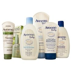 Aveeno Baby Essentials Daily Care Gift Set ---I love Aveeno for me, why wouldn't baby like it?