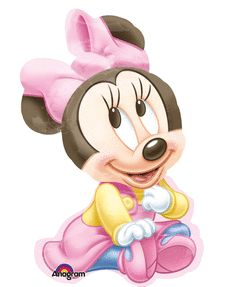 20x33 Minnie Girl Shape Mylar Balloon