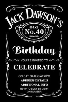 personalised jack daniels, party invitations, mens birthday invitation, ladies birthday invitations,  jack daniels invitations, jack daniels invitation template, jack daniels birthday invitation template, invitation templates,  digital printable invitations, Digital Printable, custom jack daniels label, birthday party invitation, birthday invite, birthday invitations, 50th birthday invitations, 40th birthday invitations, 30th birthday invitations, 21st birthday invitations,