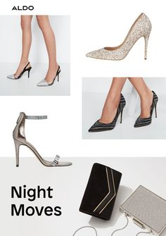 8c448c39f30 Dance the night away in stylish evening shoes, plus glam clutches to  complete your celebration