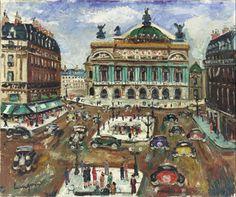 Lucien Génin (1894-1958) L'Opera de Paris