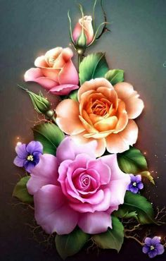 Details about Spring Roses - Chart Counted Cross Stitch Patterns Needlework for embroidery - Tattoos - Blumen Art Floral, Flower Wallpaper, Iphone Wallpaper, Beautiful Roses, Beautiful Flowers, Decoupage, 5d Diamond Painting, Color Rosa, Flower Pictures