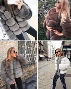 280f07690f6 BerryGo Fluffy faux fur coat women Short furry fake fur winter outerwear pink  coat 2017 autumn casual party overcoat female