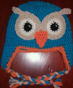 Hoot beanie/ Crochet