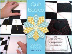 Quilt Basics - Quilting The Quilt - Part 5 of 5