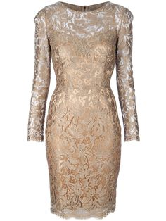 DOLCE & GABBANA Gold Lace dress $1495  http://hollyrotic.mybigcommerce.com/dolce-gabbana-gold-lace-dress-1495/