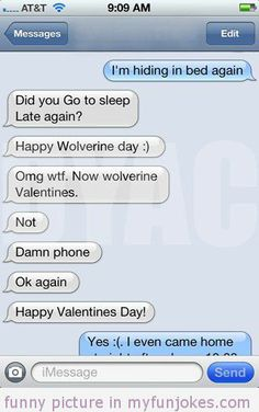 valentines day text messages jokes