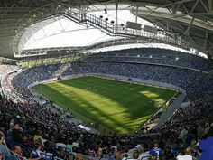 Soccer Stadium, Football Stadiums, Baseball Field, Hockey, Globe, Germany, Red Bull, Awesome, Sports