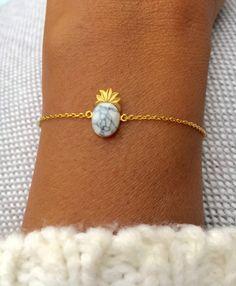 Armband Marble Pineapple