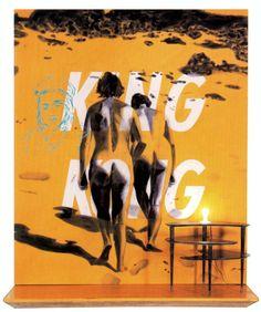 David Salle, King kong. 1983