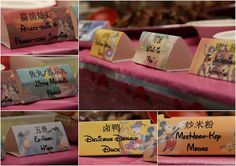 A Happy Mum: Stimulate appetites at a party with DIY food tent cards!