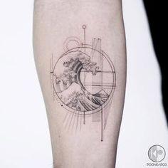 Ocean Tattoos, Body Art Tattoos, Small Tattoos, Tatoos, Fibonacci Tattoo, Family First Tattoo, Element Tattoo, Arm Tattoo, Sleeve Tattoos