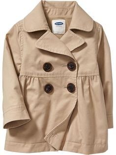 Twill Trench Coats for Baby Product Image