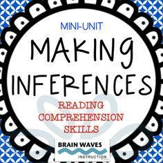 3-Day Mini-Unit that will have your students actively engaged through creative inferring activities and ample opportunities to make inferences in reading passages. ----Upper Elementary and Middle School --- Repinned by SOS Inc. Resources @SOS Inc. Resources.