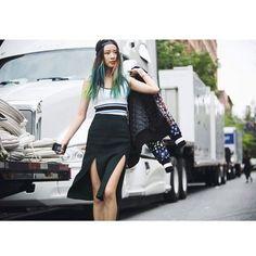 Insta-Stalking: Irene Kim, Model & Unicorn-Haired Goddess #refinery29  http://www.refinery29.com/irene-kim-model-instagram#slide-8  Until next time.
