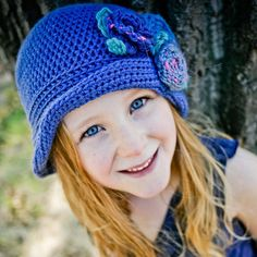Girls sun hat crochet pattern