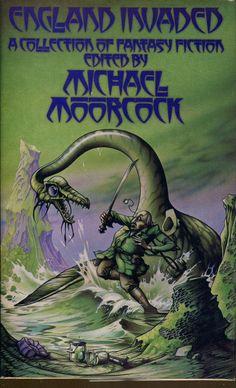 England Invaded-UK First Edition/DJ-1977-Michael Moorcock, Saki