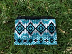 Chisec Handmade Beaded Coin Purse