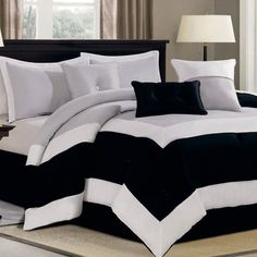 Haywood 7 Piece Comforter Set - Grey $140.00