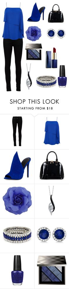 """Untitled #32"" by radientwings ❤ liked on Polyvore featuring Yves Saint Laurent, TIBI, Kendall + Kylie, Relaxfeel, Sirena, Kenneth Jay Lane, Allurez, OPI, Burberry and Estée Lauder"