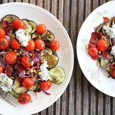 #heerlijk #nieuw #recept #online geroosterde groenten met kruidenricotta en pancetta #heerlijk #healthyfood #healthyfoodblog #gezond #gezondeten #yummie #inspiration #instafood #instafood #instafollow #yum #eten #eathealthy