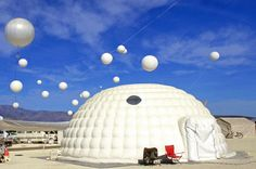 Image Slides - High style at Burning Man: The architecture of Black Rock City