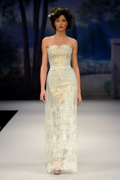 gown from Claire Pettibone's 2012 Beau Monde collection
