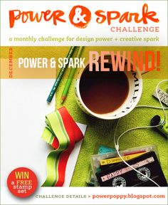 Inspired to Stamp: Power and Spark Notebook!