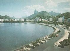 Enseada de Botafogo - década de 1950