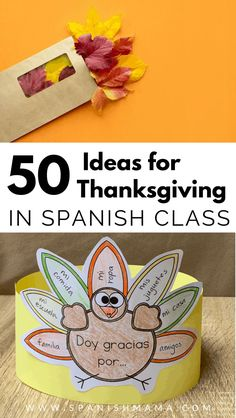Thanksgiving in Spanish: a huge collection of classroom ideas and resources, for the home or classroom! Find books, songs, printables, games, videos and more.   #thanksgiving #spanishclass #spanishteachers #spanishresourcesthanksgiving in Spanish class activities Preschool Spanish, Elementary Spanish, Spanish Activities, Spanish Classroom, Class Activities, Classroom Ideas, Listening Activities, Toddler Activities, Spanish Lesson Plans