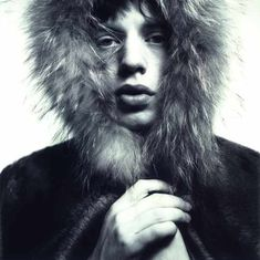 The classic image of Mick Jagger taken by David Bailey (From http://fashionandpeaceandlove.blogspot.co.uk/)