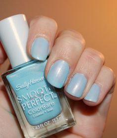 Sally Hansen Smooth And Perfect Color Care Polish ~you Pick~